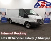 2013 FORD TRANSIT 2.2 300, 3 Seats, Mobile Workshop, Air Conditioning, Rear Parking Sensors, Ply Lined £6980.00
