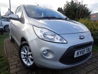 USED 2010 10 FORD KA 1.2 STYLE 3d 69 BHP **1 Owner £30 Road Tax Full Ford Service History 8 Services 12 Months Mot**