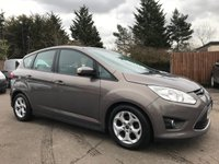 2012 FORD C-MAX 1.6 ZETEC 5d  WITH 5 SERVICE STAMPS, CLEAN EXAMPLE £5250.00