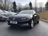 2018 VOLKSWAGEN PASSAT 2.0 SE BUSINESS TDI BLUEMOTION TECHNOLOGY 4d 148 BHP £16995.00