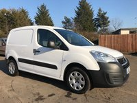 2015 PEUGEOT PARTNER 1.6 HDI PROFESSIONAL 625 WITH CRUISE CONTROL AND TOUCH SCREEN MEDIA  £5250.00
