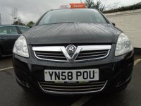 USED 2008 58 VAUXHALL ZAFIRA 1.6 EXCLUSIV 5d 105 BHP GUARANTEED TO BEAT ANY 'WE BUY ANY CAR' VALUATION ON YOUR PART EXCHANGE