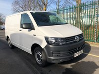 USED 2017 67 VOLKSWAGEN TRANSPORTER 2.0 T30 TDI P/V STARTLINE BMT 1d 101 BHP All Vehicles with minimum 6 months Warranty, Van Ninja Health Check and cannot be beaten on price!