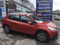 USED 2015 65 PEUGEOT 2008 1.6 E-HDI ACTIVE FAP 5d AUTO 92 BHP, only 19000 miles ***APPROVED DEALER FOR CAR FINANCE247 AND ZUTO  ***