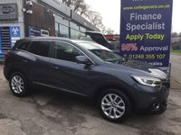 USED 2016 16 RENAULT KADJAR 1.5 DYNAMIQUE NAV DCI 5d 110 BHP, only 38000 miles ***GREAT FINANCE DEALS AVAILABLE***
