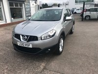 USED 2010 10 NISSAN QASHQAI 1.5 ACENTA DCI 5d 105 BHP GREAT SERVICE HISTORY 7 STAMPS-BLUETOOTH-DIESEL-PARKING SENSORS-1 FORMER KEEPER