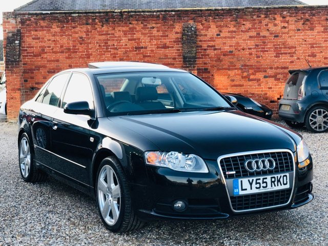 2006 55 AUDI A4 2.0 S LINE AUTO LOW MILEAGE AND HIGH SPECIFICATION