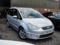 USED 2012 12 FORD GALAXY 1.6 ZETEC TDCI 5d 115 BHP ANY PART EXCHANGE WELCOME, COUNTRY WIDE DELIVERY ARRANGED, HUGE SPEC
