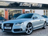 USED 2010 10 AUDI A5 2.0 TDi S LINE COUPE SPECIAL EDITION 170BHP NAVIGATION
