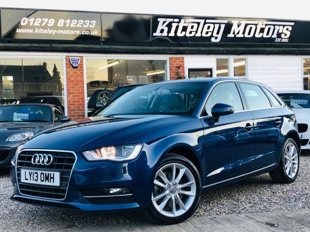 2013 13 AUDI A3 1.8 TFSI SPORT AUTO 5 DOOR 180BHP LEATHER & NAVIGATION