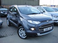 USED 2016 66 FORD ECOSPORT 1.5 TITANIUM 5d AUTO 110 BHP ANY PART EXCHANGE WELCOME, COUNTRY WIDE DELIVERY ARRANGED, HUGE SPEC