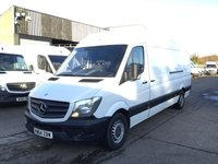 USED 2014 64 MERCEDES-BENZ SPRINTER 2.1 313CDI LWB HIGH ROOF 130BHP FACELIFT. 1 OWNER. FSH.  1 OWNER. FSH. LOW FINANCE. PX WELCOME