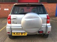 USED 2002 02 TOYOTA RAV4 2.0 NRG VVT-I 3d AUTO 146 BHP
