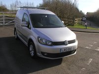 USED 2013 13 VOLKSWAGEN CADDY 1.6 C20 TDI HIGHLINE 101 BHP VAN - NO VAT Air Con, 64000 miles, Finance Available