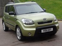 USED 2011 11 KIA SOUL 1.6 SEARCHER CRDI 5d AUTO 127 BHP 1 PREVIOUS KEEPER *  FULL SERVICE RECORD *  FULL YEAR MOT *  BLUETOOTH * PARKING AID *
