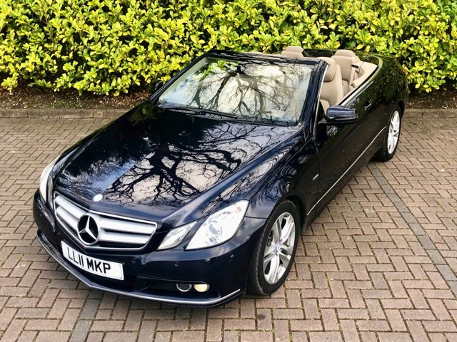 2011 MERCEDES-BENZ E CLASS  E250 CDI BLUEEFFICIENCY SE 2d 2.1 AUTO 204 BHP px swap
