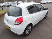 USED 2012 62 RENAULT CLIO 1.1 DYNAMIQUE TOMTOM 16V 5d 75 BHP 3 Months National Warranty - MOT October 2019