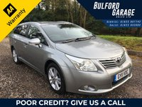 USED 2011 11 TOYOTA AVENSIS 2.0 T4 D-4D 5d 125 BHP
