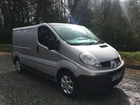 2014 RENAULT TRAFIC 2.0 SL27 DCI S/R P/V EXTRA 1d 115 BHP £10275.00