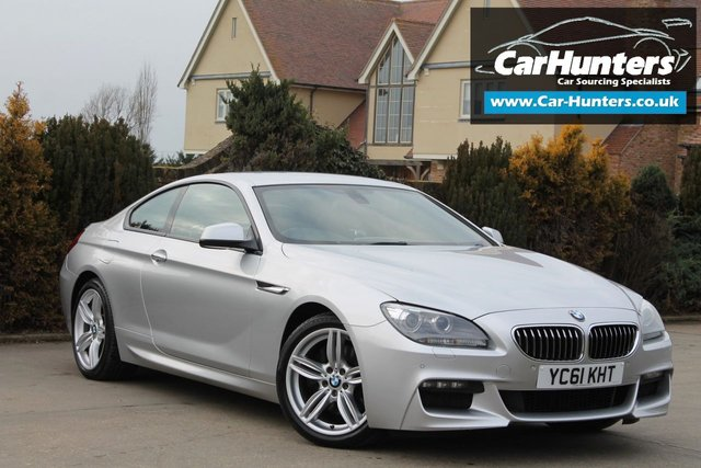2011 61 BMW 6 SERIES 3.0 640D M SPORT 2d AUTO 309 BHP