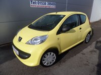 2007 PEUGEOT 107 1.0 URBAN LITE 3d 68 BHP ONLY 59000 MILES £20 ROAD TAX £2295.00