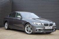 2015 BMW 5 SERIES 3.0 530D M SPORT 4d AUTO 255 BHP £19500.00