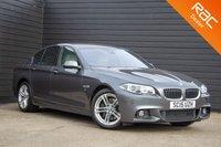 USED 2015 15 BMW 5 SERIES 3.0 530D M SPORT 4d AUTO 255 BHP £0 DEPOSIT BUY NOW PAY LATER - PRO NAV - REVERSE CAMERA