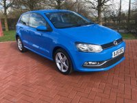 USED 2015 15 VOLKSWAGEN POLO 1.2 SEL TSI 3d 109 BHP