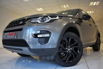 2016 LAND ROVER DISCOVERY SPORT 2.0 TD4 HSE BLACK AUTOMATIC 180 BHP £26495.00