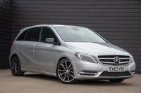 2013 MERCEDES-BENZ B-CLASS 1.8 B200 CDI BLUEEFFICIENCY SPORT 5d AUTO 136 BHP £10500.00