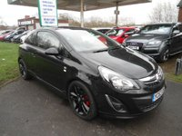 2014 VAUXHALL CORSA 1.2 LIMITED EDITION 3d 83 BHP ONE FORMER KEEPER £SOLD