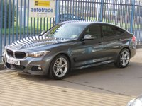 USED 2013 63 BMW 3 SERIES 2.0 320D M SPORT GRAN TURISMO 5d AUTO 181 BHP Finance arranged Part exchange available Open 7 days