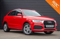 USED 2016 65 AUDI Q3 1.4 TFSI S LINE 5d AUTO 148 BHP £0 DEPOSIT BUY NOW PAY LATER - AUDI S/H - NAVIGATION