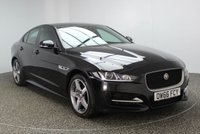 USED 2017 17 JAGUAR XE 2.0 R-SPORT 4DR 178 BHP FULL SERVICE HISTORY FULL SERVICE HISTORY + HEATED LEATHER SEATS + SATELLITE NAVIGATION + REVERSE CAMERA + ELECTRIC SUNROOF + CRUISE CONTROL + PARKING SENSOR + XENON HEADLIGHTS + HEATED STEERING WHEEL + MULTI FUNCTION WHEEL + 18 INCH ALLOY WHEELS