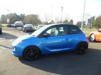 USED 2016 66 VAUXHALL ADAM 1.2 ENERGISED 3d 69 BHP HALF LEATHER, ALLOYS, PHONE PREP & MEDIA, CRUISE CONTROL, AIR CON, LOW INSURANCE GROUP