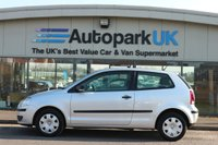 USED 2009 09 VOLKSWAGEN POLO 1.2 E 3d 59 BHP 25% DEPOSIT SHORTFALL SHORT TERM FINANCE AVAILABLE TO ALL (NO CREDIT CHECKS)  *