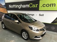 USED 2014 64 RENAULT SCENIC 1.5 DYNAMIQUE TOMTOM ENERGY DCI S/S 5d 110 BHP