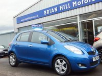 USED 2010 60 TOYOTA YARIS 1.33 TR VVTi 5dr (99bhp) ....FULL SERVICE HISTORY.  BEAUTIFUL CONDITION.