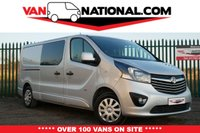USED 2016 66 VAUXHALL VIVARO 1.6 2900 L2 H1 CDTI DCB CREW VAN SPORTIVE 115 BHP (6 SEATER) ** WE DON'T CHARGE ADMIN FEE'S ** READY TO DRIVE AWAY TODAY **