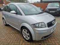 2001 AUDI A2 1.4 SE 5d 74 BHP £1495.00