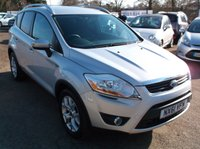 USED 2011 61 FORD KUGA 2.0 ZETEC TDCI 2WD 5d 138 BHP AFFORDABLE  FAMILY CAR IN EXCELLENT CONDITION, DRIVES SUPERBLY !!