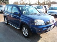 USED 2004 04 NISSAN X-TRAIL 2.5 16V SVE 5d 163 BHP P/X TO CLEAR, GREAT VALUE, DRIVES SUPERBLY !!!!!
