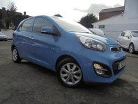 USED 2012 62 KIA PICANTO 1.2 2 5d AUTO 84 BHP LOW MILES SMALL AUTO