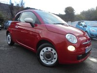 USED 2014 64 FIAT 500 1.2 COLOUR THERAPY 3d 69 BHP £30 YEARLY ROAD TAX