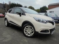 USED 2014 14 RENAULT CAPTUR 1.5 DYNAMIQUE S MEDIANAV ENERGY DCI S/S 5d 90 BHP BLUETOOTH CRUISE & CLIMATE CONTROL