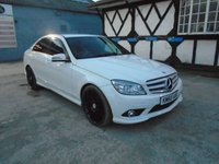 2010 MERCEDES-BENZ C CLASS 3.0 C350 CDI BLUEEFFICIENCY SPORT 4d AUTO 231 BHP £8756.00