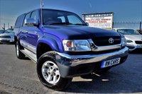 2005 TOYOTA HI-LUX 2.5 280 VX DOUBLE CAB 4WD   £7495.00