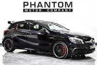 USED 2014 64 MERCEDES-BENZ A-CLASS 2.0 A45 AMG 4MATIC 5d AUTO 360 BHP