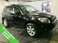 "USED 2008 58 TOYOTA RAV4 2.2 XT-R D-4D 5d 135 BHP Sunroof   :   Climate Control / Air Conditioning   :   17"" Alloy Wheels                     Reverse Parking Sensors   :   Fully Stamped Service History"