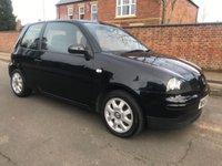 2003 SEAT AROSA 1.4 S 3d 59 BHP £1495.00